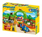 PLAYMOBIL 6754 Mi primer zoo + 6765 - Arca de Noé transportable