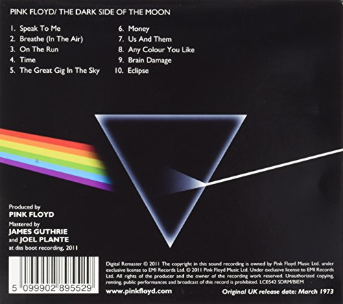 Dark Side Of The Moon Remastered
