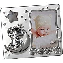 DonRegaloWeb - Portafotos de metal infantil para foto de 13x9 cm. con música en color