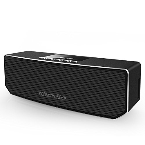 Bluedio-CS-4-Camel-Dual-Drivers-Portatile-Casse-Bluetooth-Altoparlante-Wireless-Bassi-Migliorata-Built-in-Mic-Nero