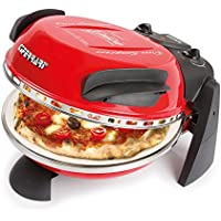 G3Ferrari 1XP20000 Pizza Express Delizia - Horno para pizza, color rojo