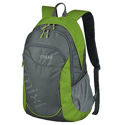 Everdoss Unisexe sac à dos en nylon de grande capacité cartable sac de l'école sac de sport sac de voyage de loisirs