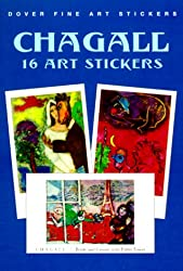 Chagall: 16 Art Stickers (Fine Art Stickers)
