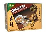 Gingen - Thai Ingwertee-Getränk mit Kandiszucker - 12 Instant Sachets - 204g