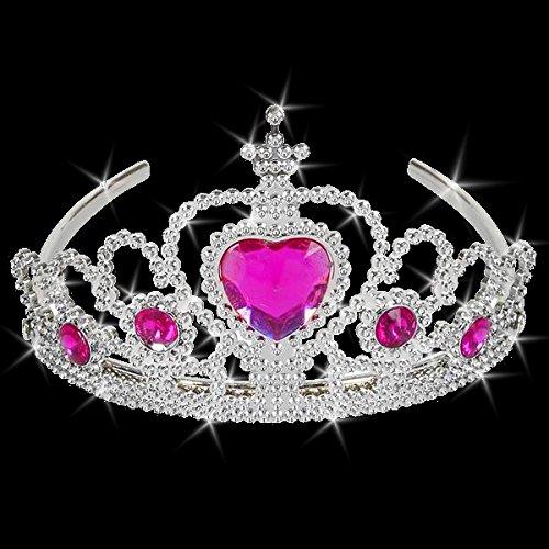 German Trendseller® - Schmuck Krone Tiara┃ NEU ┃ Kristalle ┃ Crown ┃ Haarband ┃ Schmuck ┃ Prinzessin Krone