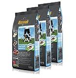 Belcando Hunde Trockenfutter - 3X Junior Lamb mit Lamm und Reis 1kg Hundefutter für Junge Hunde - leichtverdaulich und Premiumqualität