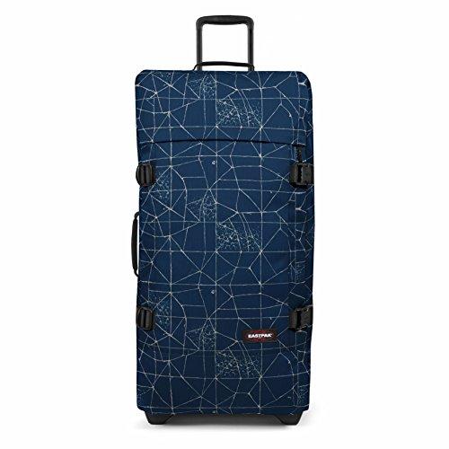 Eastpak Tranverz L Valise, 79 cm, 121 L, Bleu (Cracked Blue)