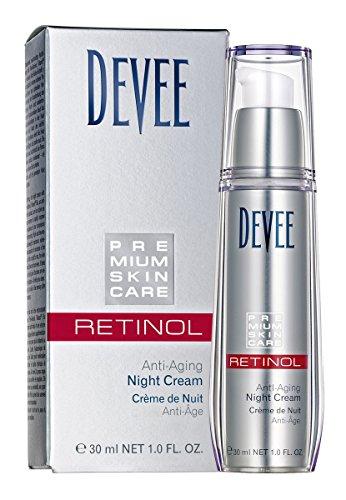 Devee Retinol Anti-Aging Night Creme - Nachtcreme mit Hyaluronsäure 30 ml