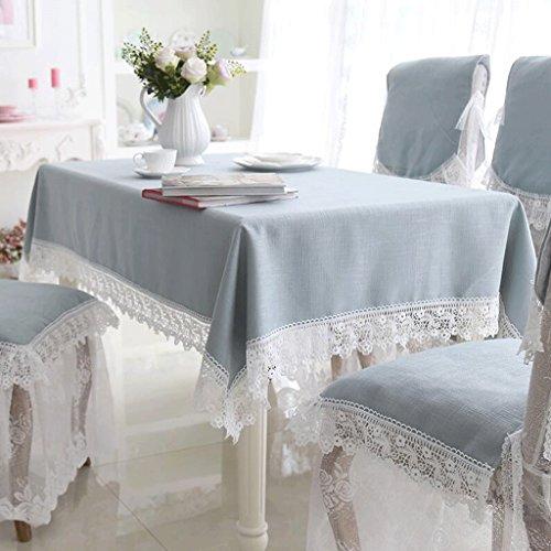 QZZ Nappes Tissu de toile lin en lin creux (taille : 85 * 85cm)