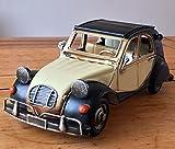 Dekofigur aus Zinn, 28 cm, Vintage-Retro, klassisch, französischer Stil im 60er-Jahre-Stil, erhältlich in zwei Farben – tolle Geschenkidee für jedes Regal oder Schreibtisch! schwarz und cremefarben