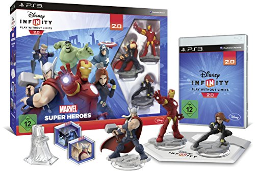 Infinity Ps3-disney (Disney Infinity 2.0: Marvel Super Heroes Starter-Set - [Playstation 3])