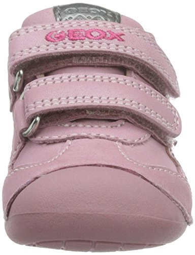 Geox Baby Mädchen B Tutim A Krabbelschuhe Pink (Dk PINKC8006)