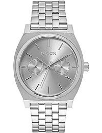 Nixon Damen-Armbanduhr Time Teller Deluxe Analog Quarz Edelstahl A9221920-00