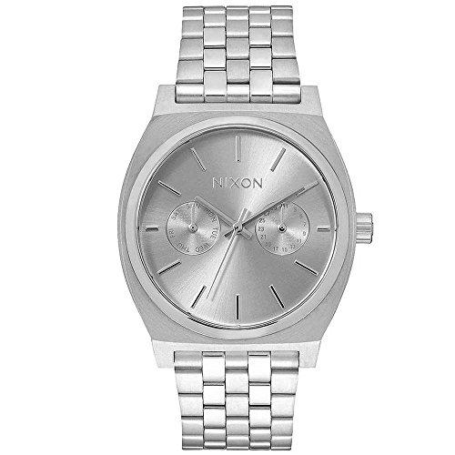 Nixon Damen-Armbanduhr Time Teller Deluxe Analog Quarz Edelstahl A9221920-00 -
