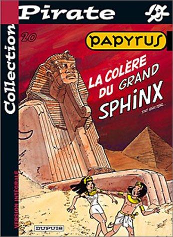 BD Pirate : Papyrus, tome 20 : La colère du grand sphynx