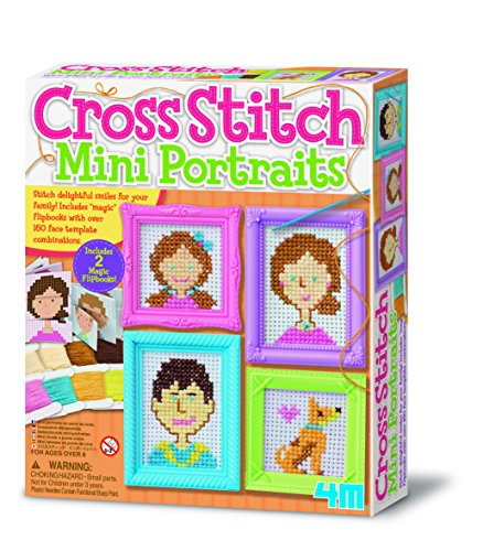 4M - Cross Stitch Mini Portáis Costura (00-04665)