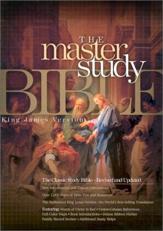 Master Study Bible-KJV