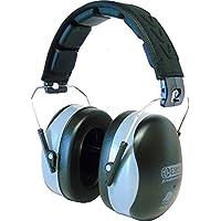 Cascos protectores Eseno con orejeras de seguridad industrial, para grabación, tocar con batería, en el estudio o en la construcción (NRR de 34dB)