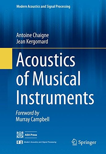 Acoustics of Musical Instruments (Modern Acoustics and Signal Processing) por Antoine Chaigne