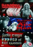 3 Classic Horrors Of The Silver Screen - Vol. 4 - Carnival Of Souls / The Ape Man / Mesa Of Lost Women [DVD]