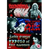 3 Classic Horrors Of The Silver Screen - Vol. 4 - Carnival Of Souls / The Ape Man / Mesa Of Lost Women
