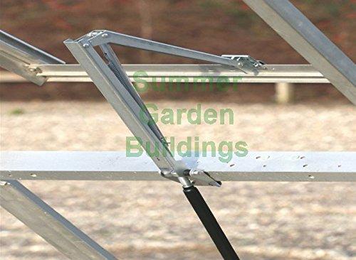 AUTOMATIC GREENHOUSE WINDOW OPENER - HEAT SENSITIVE SOLAR POWERED AUTO ROOF VENT Test