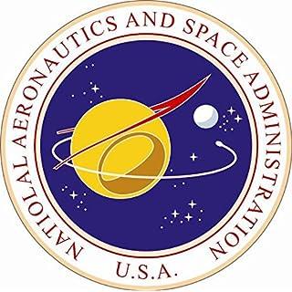 U24 Aufkleber NASA Seal Siegel 20 cm Autoaufkleber Sticker Konturschnitt