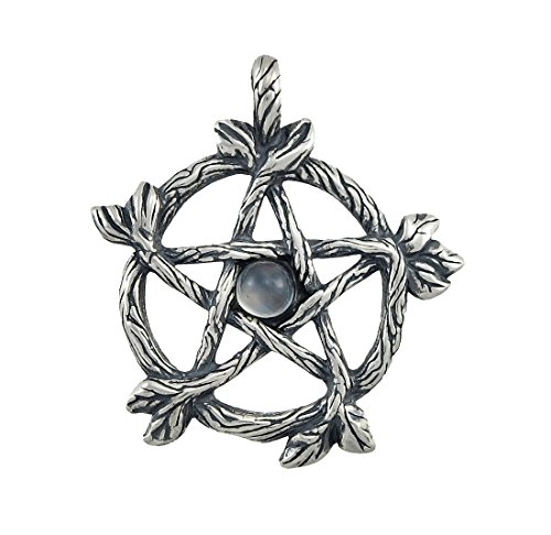 sterling-silver-forest-pentacle-pendant-quartz-accent