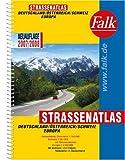 Falk Straßenatlas Deutschland/Österreich/Schweiz/Europa 2007/2008: 1:300.000/1:4,5 Mio.