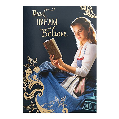 hallmark-beauty-and-the-beast-carte-danniversaire-lecture-dream-believe-medium
