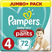 Pampers Baby-Dry Pants Size 4 Nappy Pants
