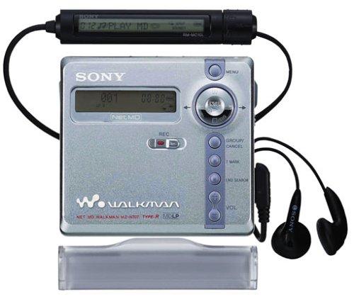 Sony MZ-N707/S  MP3-MiniDisc-Rekorder silber