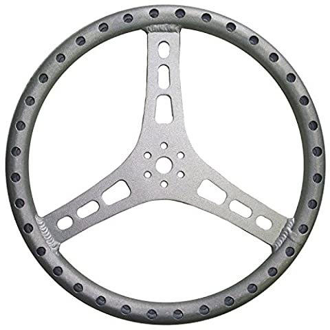 TRIPLE X RACE COMPONENTS ST-0001 Steering Wheel 15in Dia 1-1/8 in Tube (1.125 Tube)