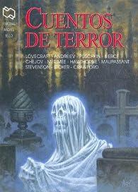Cuentos de Terror - Antologia par  Anton Pavlovich Chejov