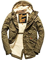 Superdry Herren Jacke Rookie Military Parka