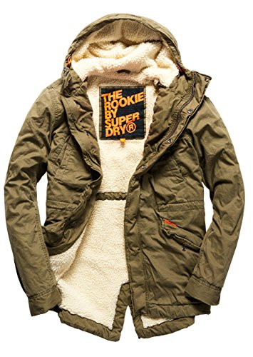 superdry herren jacke rookie military parka k stenkluft. Black Bedroom Furniture Sets. Home Design Ideas