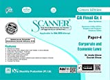 Scanner CA Final (New Syllabus) Gr. I Paper - 4 Corporate and Economic Laws