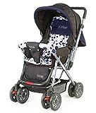 #6: LuvLap Baby Stroller Pram Sunshine (Navy Blue)