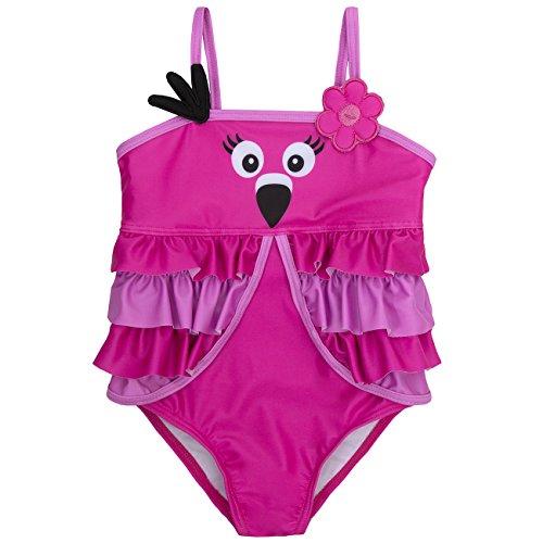 Kostüm Baby Flamingo - Babys/Kleinkinder Neuheit Tier Schwimmen Kostüm - 3 Monate bis 6 Jahre (12-18 Monate, Flamingo)