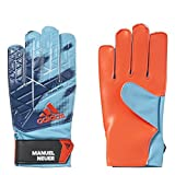 adidas Kinder Ace Young Pro Manuel Neuer Torwarthandschuhe, Energy Blue s17/Solar Red/White/Black, 5