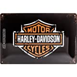 Nostalgic-Art 22138 Harley-Davidson - Paint Logo, Blechschild 20x30 cm