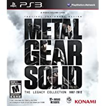 Metal gear SoliD Collection Legacy edition
