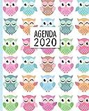 Agenda 2020: Diario Agenda Settimanale Datato con Calendario,  Date da Ricordare, Obiettivi, Priorita' e spazio Appunti per i tuoi Pensieri!  Weekly Planner 12 Mesi,  Settimana su Due Pagine.