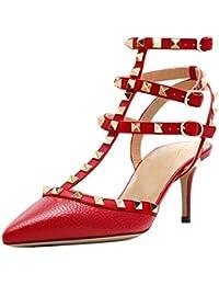 De Tacón esRojo Zapatos Amazon MujerY Para 9eDYWEH2I