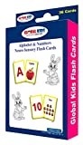 #3: Neuro Sensory Colour Flash Card: Alphabet & Numbers For Tiny Tots