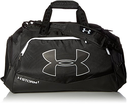 Under Armour Unisex Sporttasche Storm Undeniable II MD, blk, 33 x 64 x 28 cm, 60 liters, 1263967-001 (Under Sporttasche Armour Kleine)