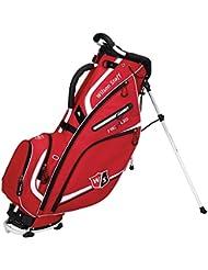 2015 Wilson Nexus II Stand Bag Mens Golf Carry Bag 5-Way Divider Red/White