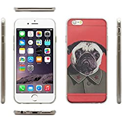 "Funda protectora diseño carlino rojo - Apple iPhone 6 (4,7"")"