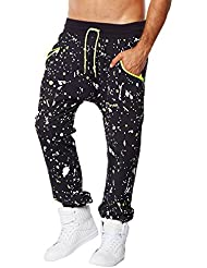 Zumba Fitness Cosmic Harem Femme Back to Black FR : XL (Taille Fabricant : XL)