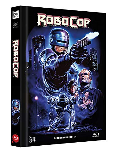 RoboCop 1 - 2-Disc Limited Director's Cut - Mediabook, Cover D (+ DVD) [Blu-ray]